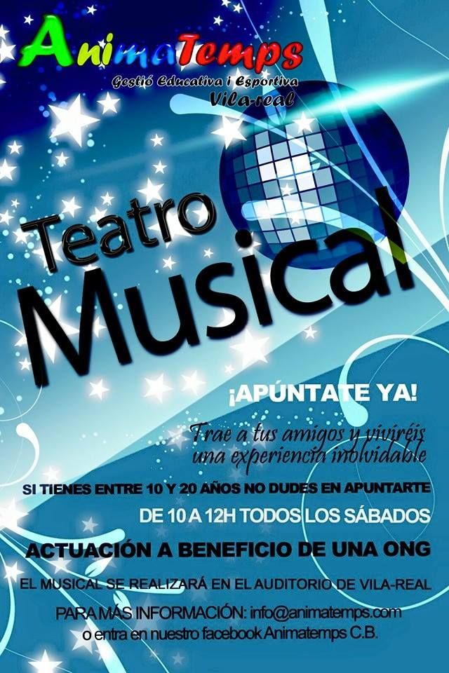 Teatro Musical Animatemps